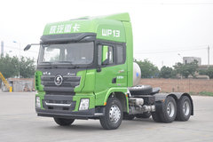 陕汽重卡 德龙X3000 黄金版 430马力 6X4 LNG牵引车(SX42584X384TL) 卡车图片