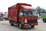 中国重汽HOWO 统帅 148马力 4.15米单排仓栅式轻卡(ZZ5047CCYF341CE143)