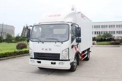 一汽凌河 117马力 4.12米单排厢式轻卡(CAL5041XXYDCRE5) 卡车图片