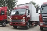 江淮帅铃 威司达W570 180马力 4X2 7.66米排半厢式载货车(HFC5142XXYP70K1E3V)