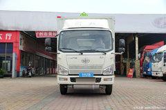 一汽解放 虎V 120马力 4X2单排易燃气体厢式运输车(CA5045XRQP40K17L1E5A84)