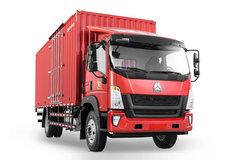 中国重汽HOWO G5X中卡 标载版 180马力 6.2米排半厢式载货车(ZZ5187XXYG471DE1) 卡车图片