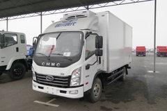 四川现代 致道300M 130马力 4X2 4.1米冷藏车(CNJ5040XLCZDB33V)