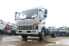 江淮 骏铃V6 154马力 4.18米单排仓栅式轻卡底盘(HFC2043CCYP91K2C4V-S) 卡车图片