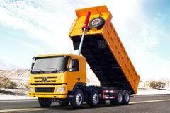 大运 新N8E重卡 310马力 8X4 7.6米自卸车(CGC3310D5DDED) 卡车图片