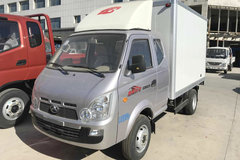 北汽黑豹 Q5 1.2L 85马力 汽油 2.85米排半厢式微卡(BJ5035XXYP30JS) 卡车图片
