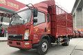 中国重汽HOWO 悍将 重载版 170马力 3.85米排半仓栅式轻卡