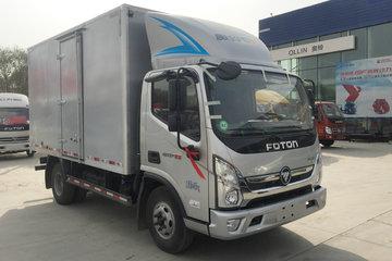 福田 奥铃CTS 143马力 4.14米单排厢式轻卡(BJ5048XXY-FA)
