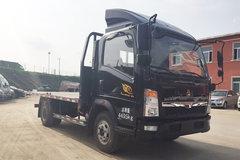 中国重汽HOWO 悍将 170马力 4X2 平板运输车(ZZ5047TPBF341CE145)