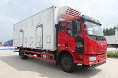 一汽解放 J6L中卡 220马力 4X2 7.6米雏禽运输车(QYK5160XCQ) 卡车图片