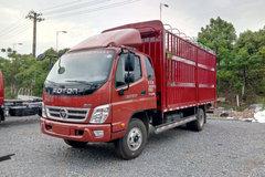 福田 奥铃CTX 156马力 5.75米排半仓栅式载货车(BJ5149CCY-F2) 卡车图片