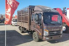 唐骏欧铃 T3系列 113马力 3.88米排半仓栅式轻卡(ZB5041CCYJPD6V) 卡车图片