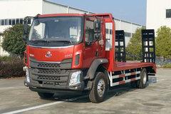 东风柳汽 新乘龙M3 200马力 4X2 平板运输车(楚韵牌)(EZW5185TPBL)