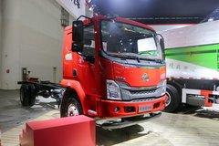 东风柳汽 乘龙L3 160马力 4X2 6.75米排半栏板载货车底盘(LZ1121M3AB) 卡车图片
