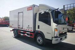 中国重汽HOWO 悍将 95马力 4X2冷藏车(ZZ5047XLCF3315E145)