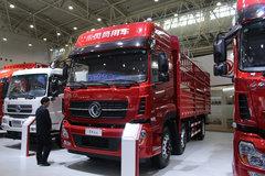 东风商用车 天龙重卡 292马力 6X2 8.6米仓栅式载货车(DFH5250CCYAX2A) 卡车图片