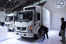 东风华神 T1 4.5T 4.13米单排纯电动厢式轻卡81.14kWh