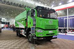 一汽解放 J6P重卡 350马力 6X4 5.6米渣土自卸车(CA3250P66K2L1T1AE5) 卡车图片