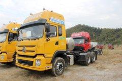 东风 特商重卡 380马力 6X4 LNG牵引车(DFE4250VFN)