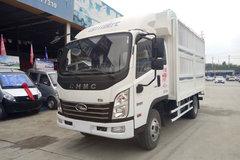 四川现代 致道300M 130马力 3.85米排半仓栅式轻卡(CNJ5041CCYZDB33V) 卡车图片