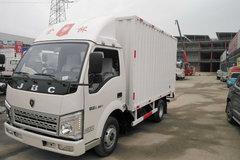 金杯 骐运 68马力 4X2 3.58米单排厢式轻卡(油刹)(SY5045XXYHZA-MC) 卡车图片
