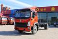中国重汽HOWO G5X中卡 210马力 6.75米栏板载货车底盘(ZZ1187G521DE1)