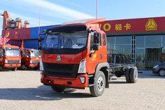 中国重汽HOWO G5X中卡 210马力 6.75米栏板载货车底盘(ZZ1187G521DE1) 卡车图片