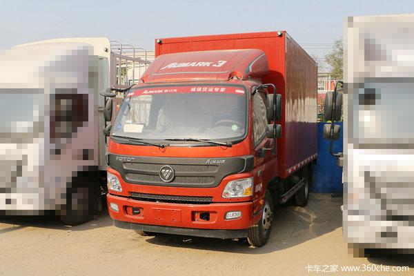 福田 欧马可3系 150马力 4.165米单排厢式轻卡