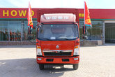 中国重汽HOWO 悍将 170马力 4.15米单排仓栅式轻卡(ZZ5047CCYF341CE143A)