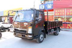 中国重汽HOWO 悍将 170马力 4.2米单排栏板轻卡(重汽10档)(ZZ1047F341CE145) 卡车图片