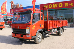 中国重汽HOWO 统帅 154马力 5.2米排半栏板载货车(ZZ1107G421CE1)