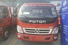福田 奥铃捷运 科技版 143马力 3.8米排半栏板轻卡(BJ1049V9JEA-C1) 卡车图片