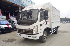 四川现代 致道300N 88马力 3.37米排半仓栅式轻卡(CNJ5040CCYEDF28V) 卡车图片