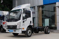 四川现代 致道300N 快运版 116马力 4.095米单排厢式轻卡底盘(CNJ5040XXYEDF33V) 卡车图片