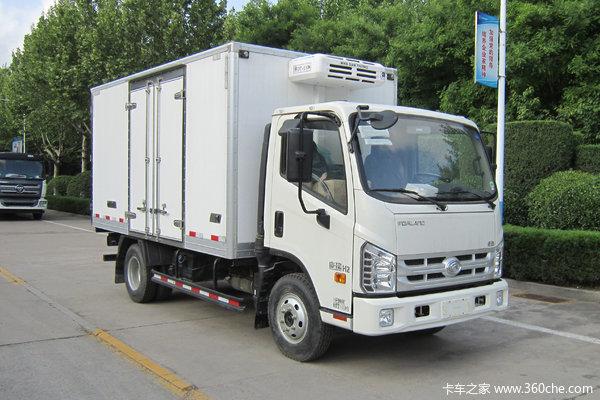 福田 时代H2 115马力 4X2 4米冷藏车
