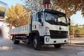 中国重汽HOWO G5X中卡 220马力 6.75米排半栏板载货车(国六)(ZZ1187K521DF1)图片