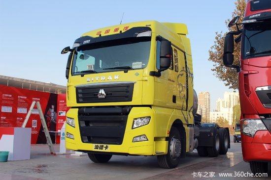 中国重汽 汕德卡SITRAK C7H重卡 430马力 6X4 LNG牵引车(MCY13后桥)(ZZ4256V384HE1LB)