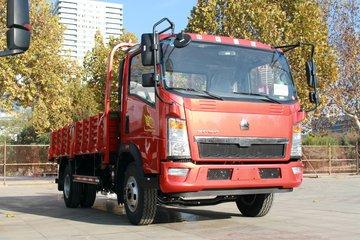 中国重汽HOWO 悍将 170马力 4.165米单排栏板轻卡(重汽10档)(ZZ1047F341CE145)