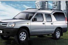2011款郑州日产 东风锐骐 标准型 2.5L柴油 双排厢式皮卡 卡车图片