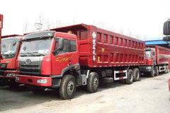 解放 奥威(J5P)重卡 350马力 8X4 8米自卸车(CA3312P2K2L2T4E) 卡车图片
