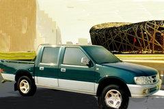 东风 信天游 95马力 2.8L柴油 双排皮卡 卡车图片