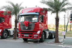 联合卡车 E420重卡 420马力 6X4牵引车(QCC4252D654M) 卡车图片