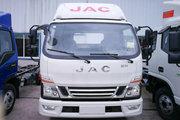 江淮 骏铃V6 141马力 3.905米排半仓栅式轻卡(HFC5043CCYP91K2C2V)