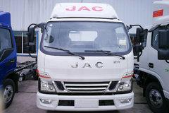 江淮 骏铃V6 156马力 3.905米排半仓栅式轻卡(HFC5043CCYP91K2C2V) 卡车图片