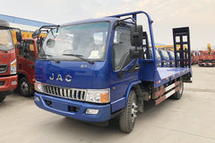 江淮 骏铃 156马力 4X2 平板运输车(程力威牌)(HCQ5046TPBHF5)