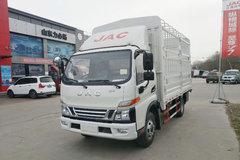 江淮 骏铃V6 120马力 4.18米单排仓栅式轻卡(HFC5043CCYP91K1C2V-S)图片