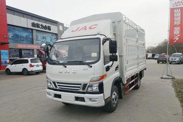江淮 骏铃V6 156马力 4.18米单排仓栅式轻卡(HFC5043CCYP91K2C2V)
