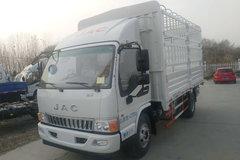 江淮 骏铃E6 重载版 156马力 4.18米单排仓栅式轻卡(HFC5043CCYP91K1C2V-S)图片