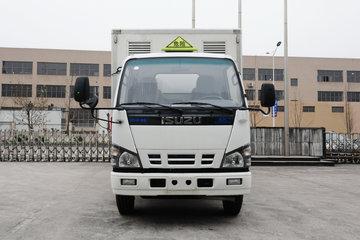 庆铃 五十铃100P 98马力 4X2 4.2米易燃液体厢式运输车(QL5040XRYA6HAJ)