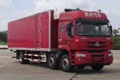 东风柳汽 乘龙M5 240马力 8X2 9.4米冷藏车(LZ5250XLCM5CB)